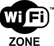 Logo WiFi zone - Hotspot